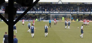 OView from the away end, Roots Hall, Sothend United