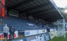 The Away end at Adams Park, Wycombe