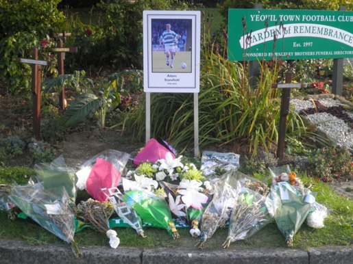 Yeovil Town, memorial garden