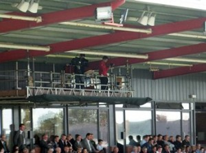 TV and Camera gantry at St James Park (SJP)