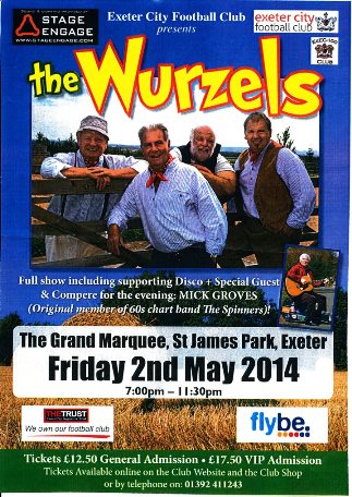 The_Wurzels_at_SJP