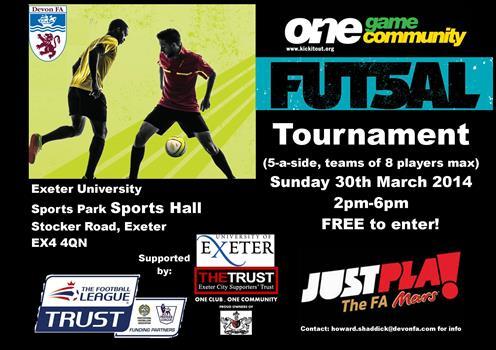OGOC Futsal Poster