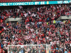 jubilant_fleetwood_fans_at_wembley