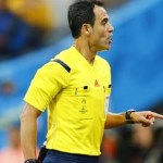 Referee Carlos Velasco Carballo
