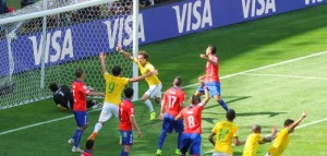 World Cup Brazil Chile feat