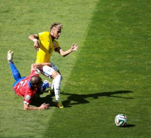 World Cup Brazil Chile
