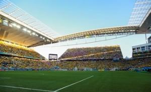 Brazil v Croatia. Arena Sao Paulo
