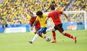 World Cup 2014. Brazil vs Mexico