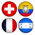 Group E footballs (c)