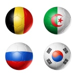 Group H footballs