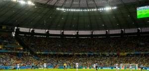 Uruguay v Costa Rica. Stadium Estádio Castelão