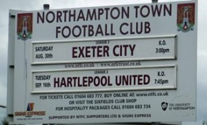 northampton_exeter_sign