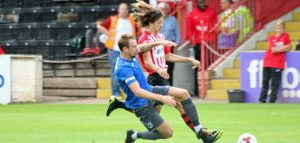 Ethan Ampadu at Exeter City. Before move to Chelsea