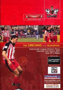 exeter_city_blackpool_programme310301