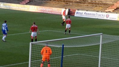 Oldham vs Exeter 2009