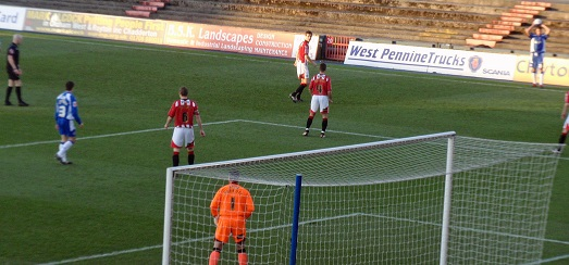Oldham vs Exeter 2009